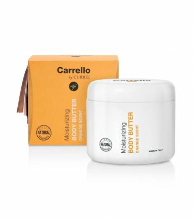 Buy Hydrating Line Carrello products online | Moisturizing Body Butter (Orange Scent)