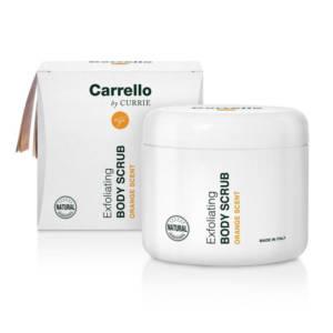 Buy Hydrating Line Carrello products online | Exfoliating Body Scrub (Orange Scent)