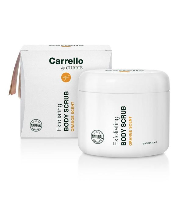 Buy Hydrating Line Carrello products online | Exfoliating Body Scrub (Orange Scent)