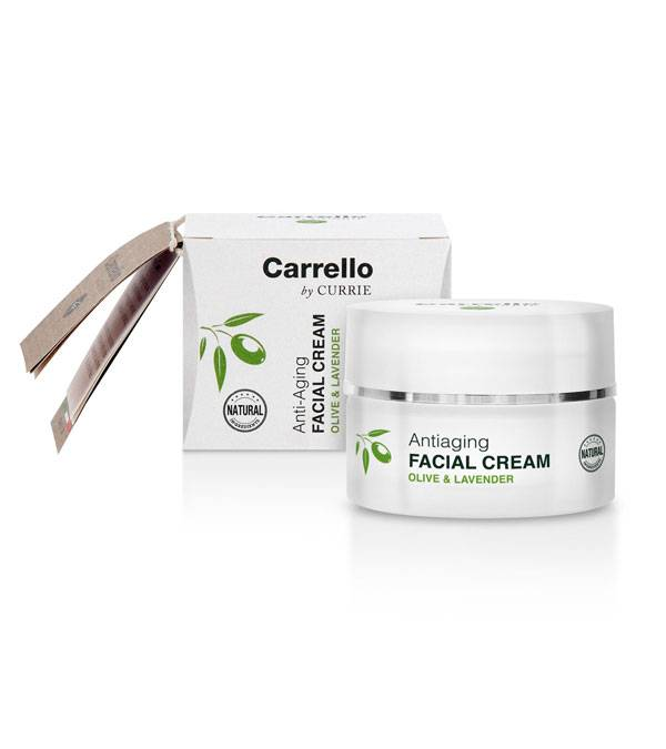 Buy Olive and Lavender line Carrello products online | Anti Aging Facial Cream