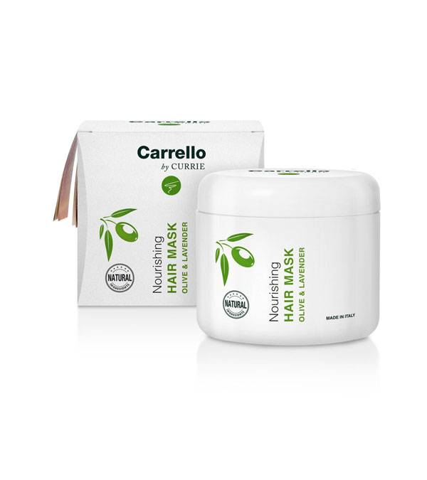 Buy Olive and Lavender line Carrello products online | Nourishing Hair Mask