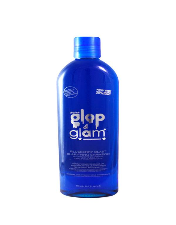 Buy Glop & Glam hair products online | Blueberry Blast Clarifying Shampoo