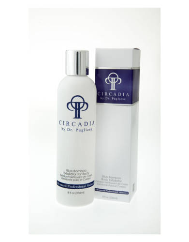 Blue Bamboo Exfoliator for Body