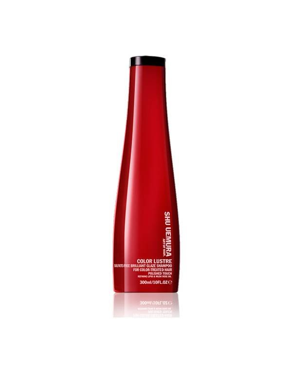 Buy Shu Uemura hair products online | Color Lustre Sulfate Free Shampoo
