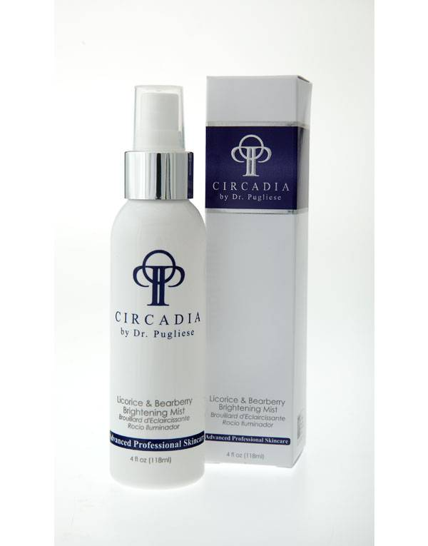 Buy Circadia Skin products online   Licorice and Bearberry Brightening Mist