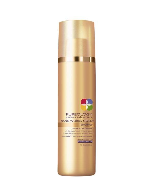Buy Pureology hair products online | Nano Works Gold Shampoo