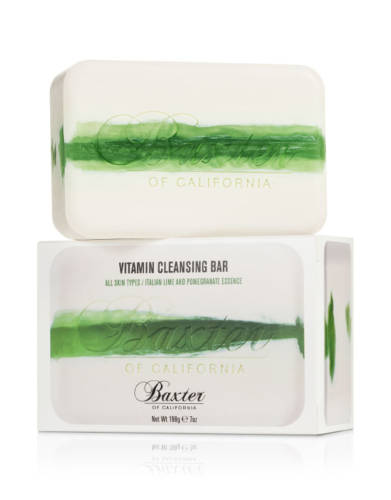Buy Baxter of California For Men products online | Vitamin Cleansing Bar Italian Lime & Pomegranate