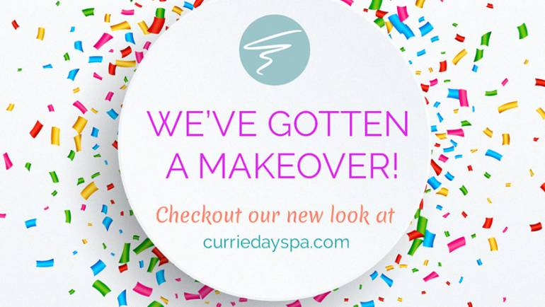New Look. Look New- Connect with Currie's Virtual Makeover (website makeover)