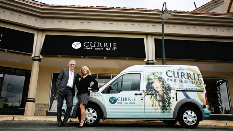 The Currie Van is on its way- now offering FREE home delivery