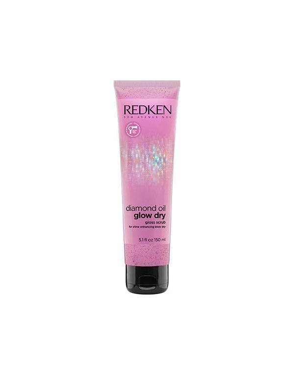 Buy Redken hair products online | Diamond Oil Glow Dry Pre-Shampoo Gloss Hair Scrub