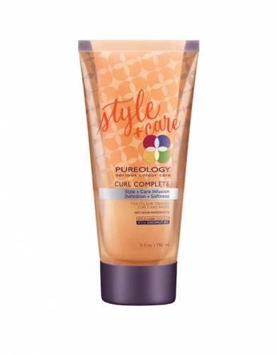 Buy PUREOLOGY hair products online | Curl Complete Style + Care Infusion
