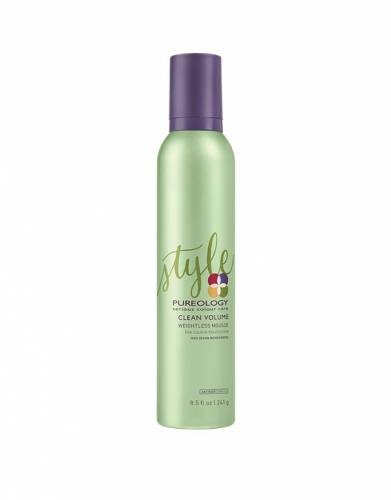 Buy PUREOLOGY hair products online | Clean Volume Weightless Mousse