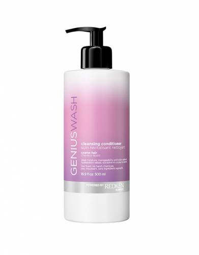 Buy Redken hair products online | Genius Wash Cleansing Conditioner Coarse Hair