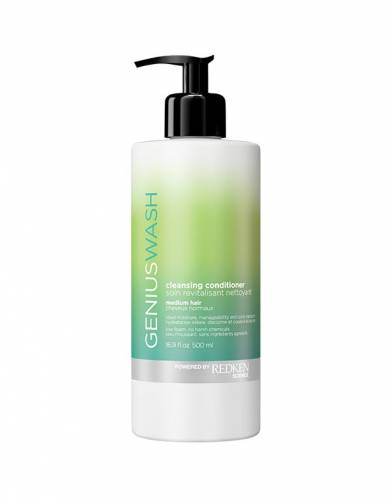 Buy Redken hair products online | Genius Wash Cleansing Conditioner Medium Hair